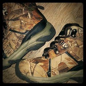 Boys RealTree Camo Boots